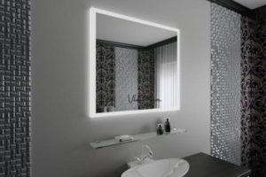 зеркало в ванную комнату с подсветкой фото 30