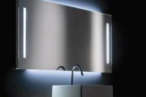зеркало в ванную комнату с подсветкой фото 31