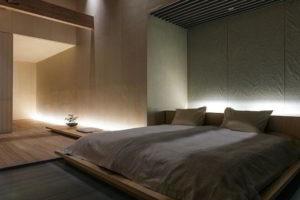 минимализм в спальне фото 12