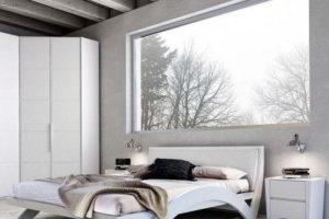 минимализм в спальне фото 33