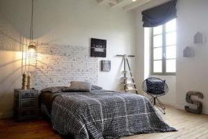 минимализм в спальне фото 41