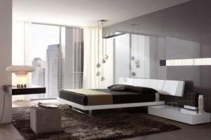 минимализм в спальне фото 7