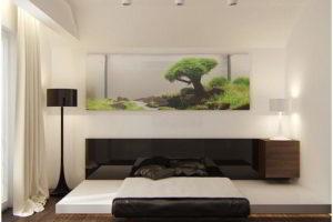 минимализм в спальне фото 8