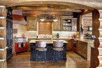 интерьер кухни в кантри стиле