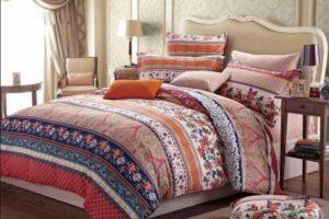спальня в стиле ретро