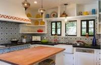 дизайн кухни в марокканском стиле