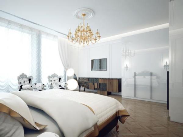 Спальня в белых тонах: 92 фото с вариантами оформления самых красивых интерьеров