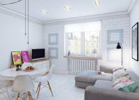 скандинавский стиль в интерьере малогабаритных квартир