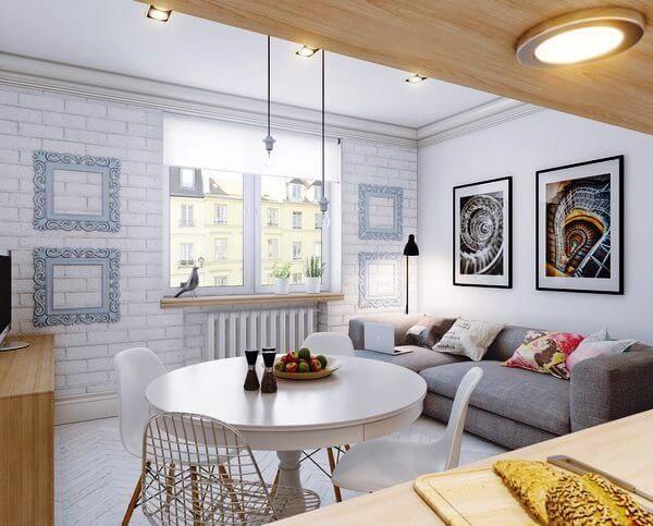 скандинавский стиль в интерьере малогабаритных квартир фото 11