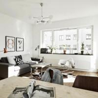 скандинавский стиль в интерьере малогабаритных квартир фото 21
