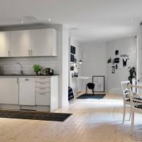скандинавский стиль в интерьере малогабаритных квартир фото 24