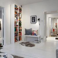 скандинавский стиль в интерьере малогабаритных квартир фото 25