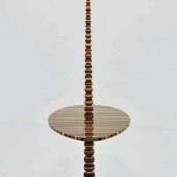торшер напольный со столиком фото 22