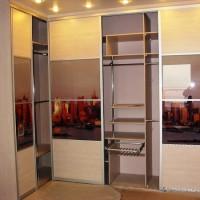 встроенный шкаф купе в маленькую прихожую фото 2