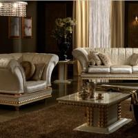 итальянская мягкая мебель для гостиной фото 15