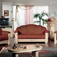 итальянская мягкая мебель для гостиной фото 3