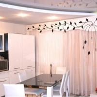 красивые ламбрекены на кухню фото 33