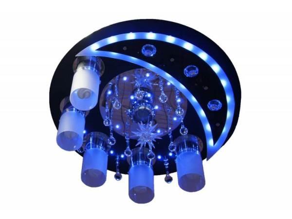 люстры светодиодные потолочные с пультом фото 2