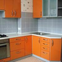 маленькие угловые кухни дизайн фото 10