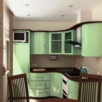 маленькие угловые кухни дизайн фото 12