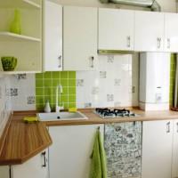 маленькие угловые кухни дизайн фото 14