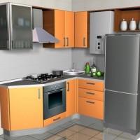 маленькие угловые кухни дизайн фото 17