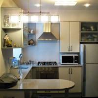 маленькие угловые кухни дизайн фото 19
