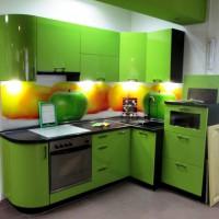 маленькие угловые кухни дизайн фото 21