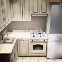 маленькие угловые кухни дизайн фото 22