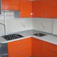 маленькие угловые кухни дизайн фото 23