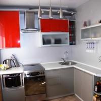 маленькие угловые кухни дизайн фото 24