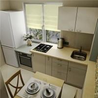 маленькие угловые кухни дизайн фото 26
