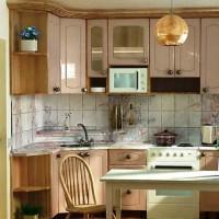 маленькие угловые кухни дизайн фото 28