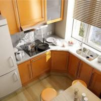 маленькие угловые кухни дизайн фото 31