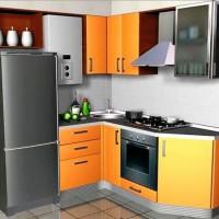 маленькие угловые кухни дизайн фото 32