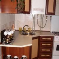 маленькие угловые кухни дизайн фото 35