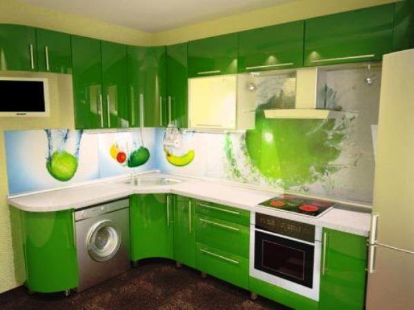 маленькие угловые кухни дизайн фото 6