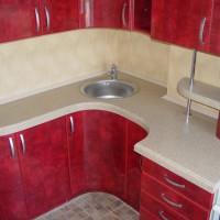 маленькие угловые кухни дизайн фото 9
