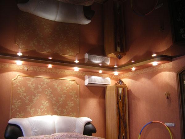 освещение в спальне без люстры фото 3