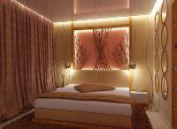 освещение в спальне без люстры фото