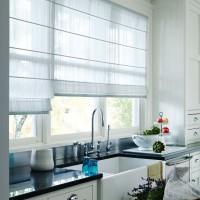 римская штора на кухню фото 14