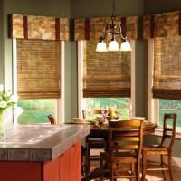 римская штора на кухню фото 15