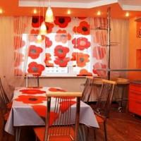 римская штора на кухню фото 19