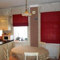 римская штора на кухню фото 36