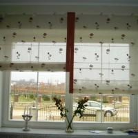 римская штора на кухню фото 38