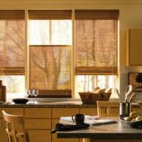 римская штора на кухню фото 5