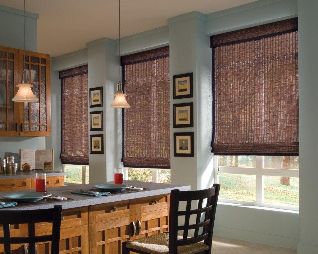 римские шторы картинки на кухню