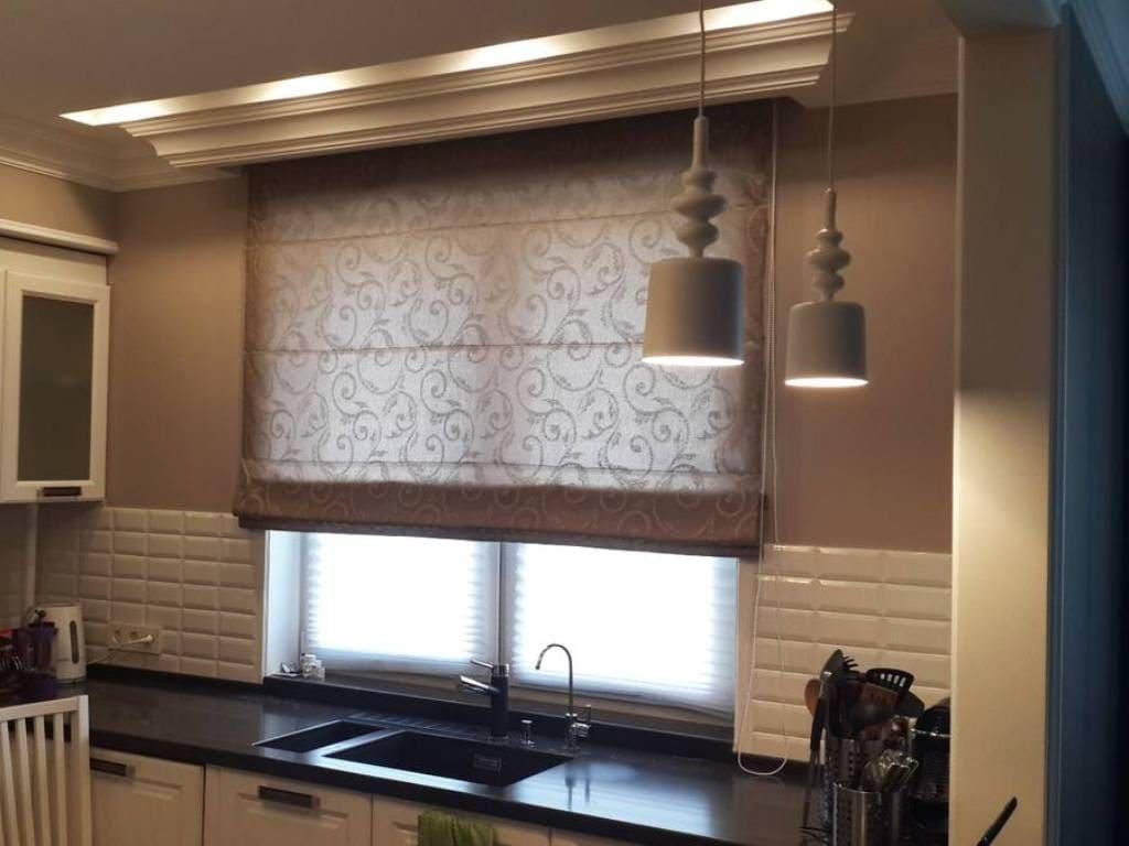 римские шторы на кухню своими руками фото 30