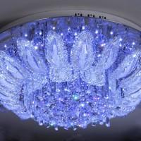 светодиодные люстры с пультом фото 14