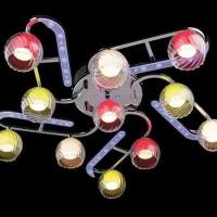светодиодные люстры с пультом фото 15